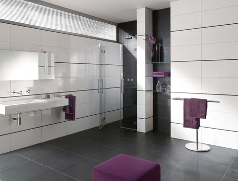 300x600 White rectified edge wall tiles - Gloss and Matt - Premium Grade - www.2degs.com.au