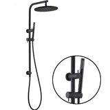Capri shower set - black - www.2degs.com.au