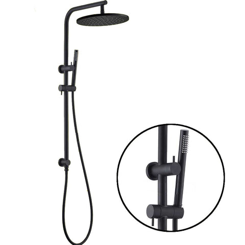 Capri shower set - black