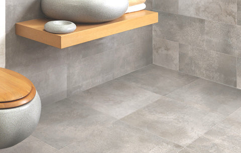600x600 Terrazo series - lappato surface cement look floor tile