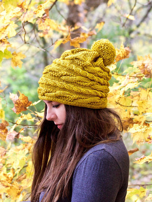 PDF Knitting Pattern: The Aspen Beanie