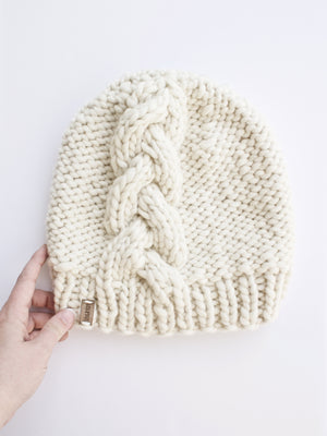 PDF Knitting Pattern: The Triadic Beanie