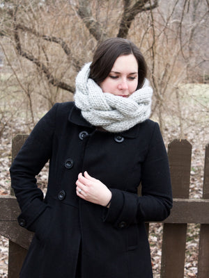 PDF Knitting Pattern: The Cadenza Cowl