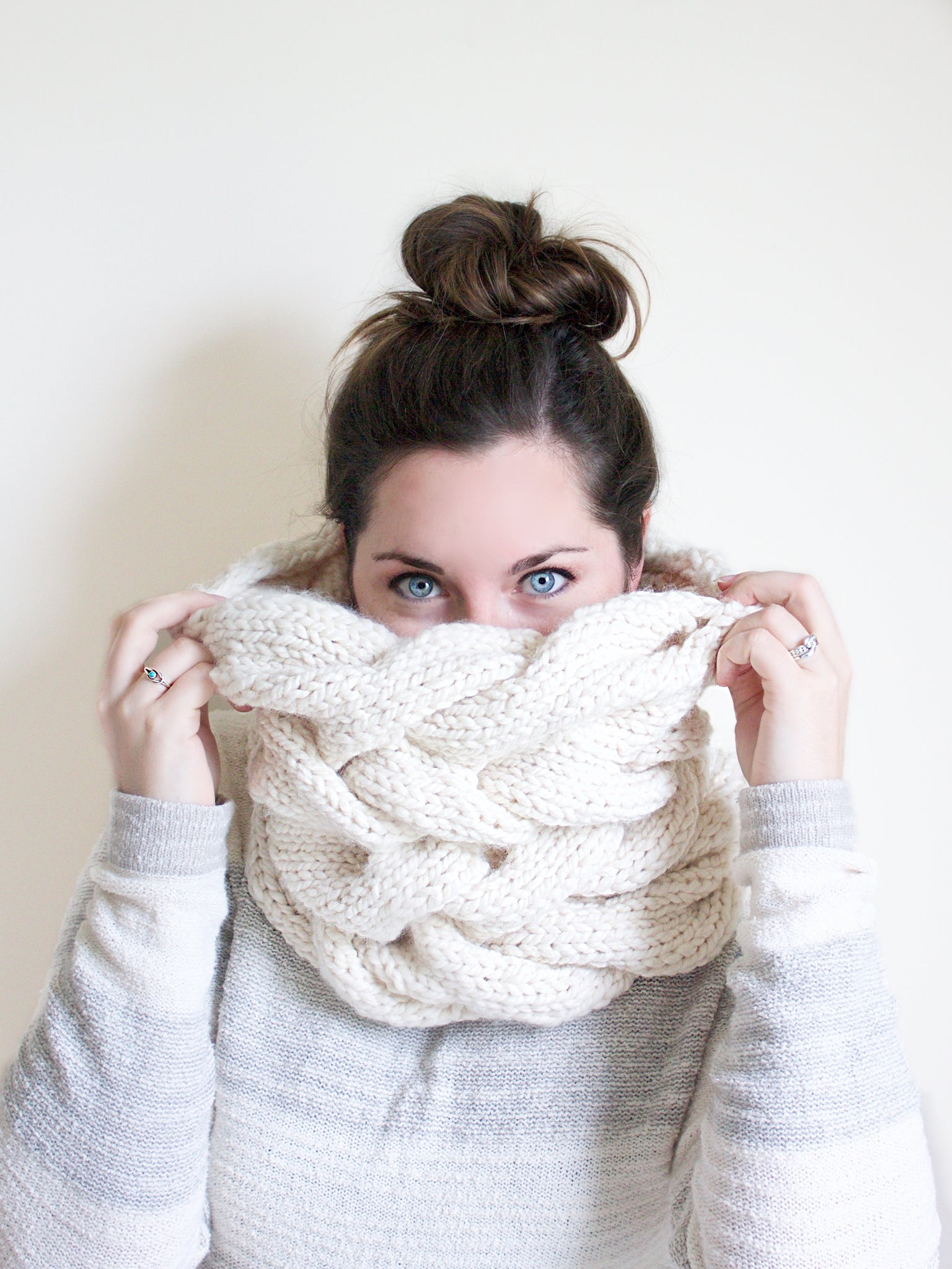 PDF Knitting Pattern: The Juniper Cowl