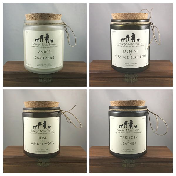 Luxury Wood Wick Candles