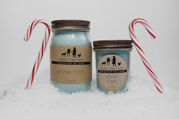 Snow Fort Soy Candle