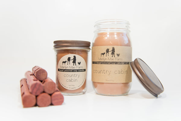 Country Cabin Soy Candle