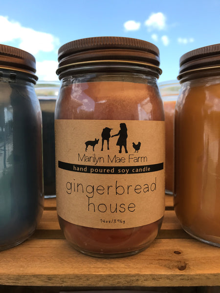 Gingerbread House Soy Candle