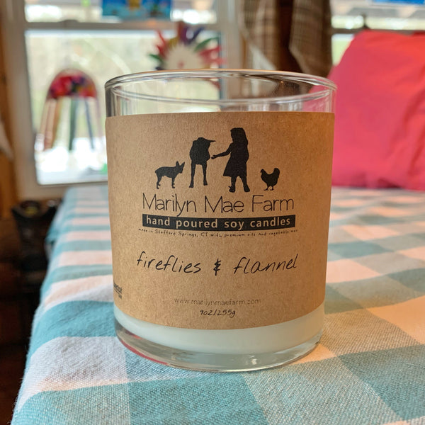Fireflies 'n Flannel Soy Candle