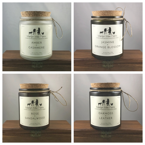 Luxury Wood Wick Candle Bundle