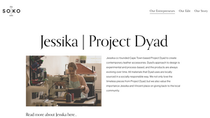 Project Dyad featured on The Soko Edit