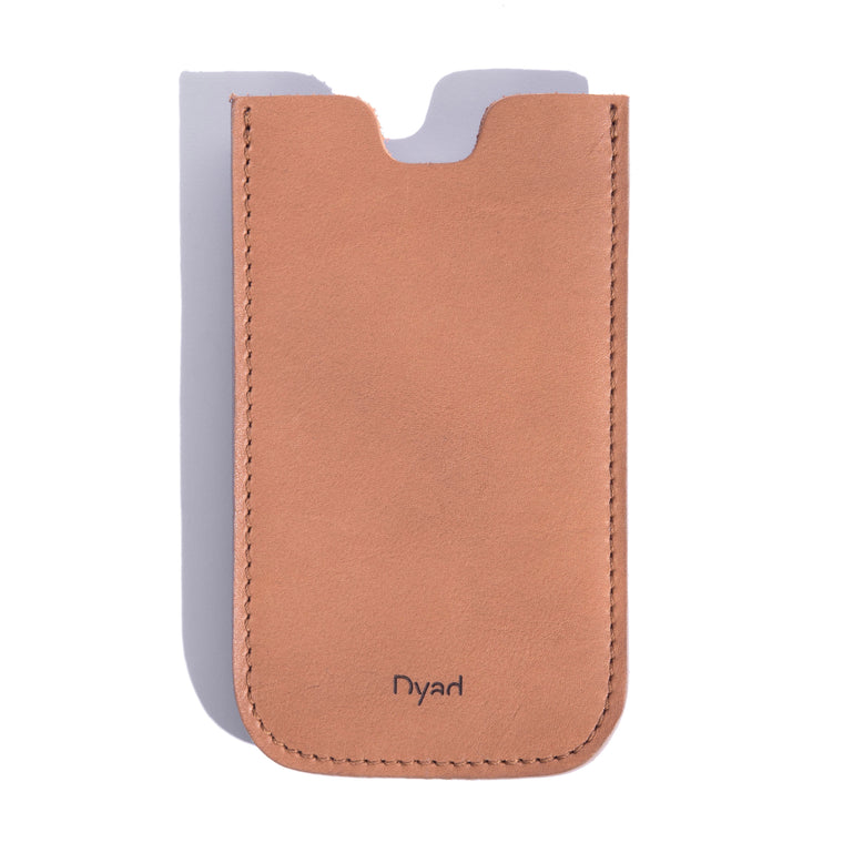 Iphone Sleeve - Tan - Project Dyad