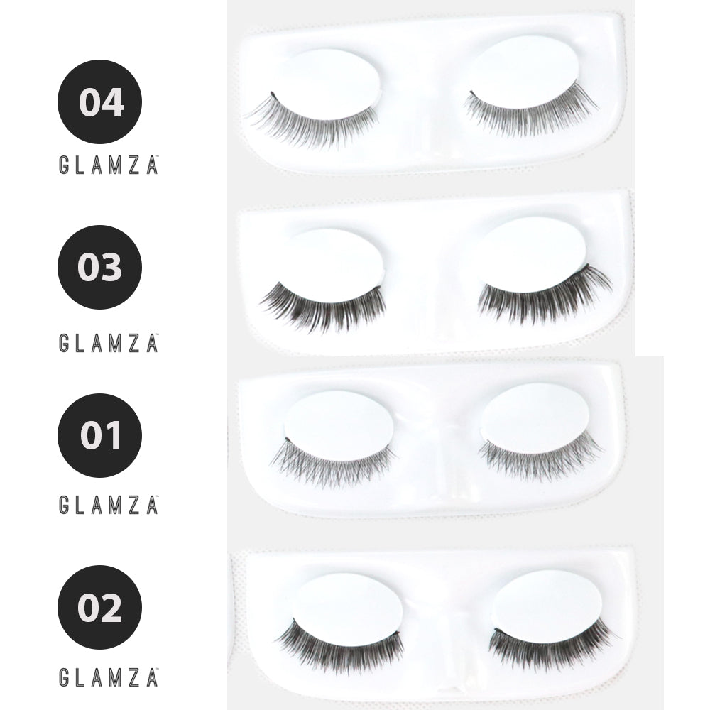 Glamza Magic False Eyelashes Fake Eye Lashes by  Its a Done Deal