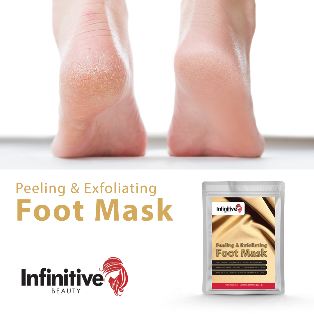 Infinitive Beauty Exfoliating Foot Mask Peeling Masks by  Its a Done Deal