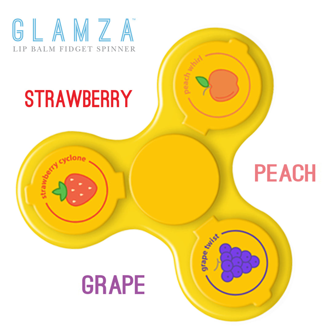 Glamza Lip Balm Gloss Spinner 3 Finger Fruit Flavoured by  Its a Done Deal