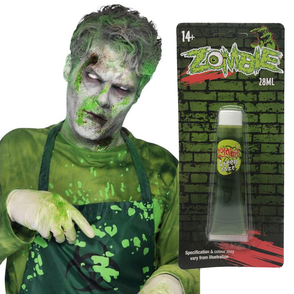 Fake Zombie Halloween Ooze Make Up by  Its a Done Deal