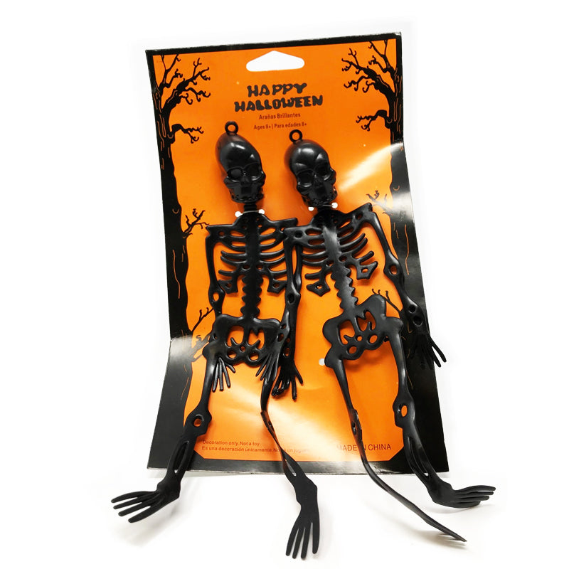 2 x Halloween Hanging Skeleton Party Decoration by  Its a Done Deal