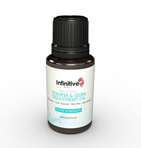 Infinitive Beauty Rise & Shine Tooth and Gum Treatment Oil, Mouthwash - Image 0