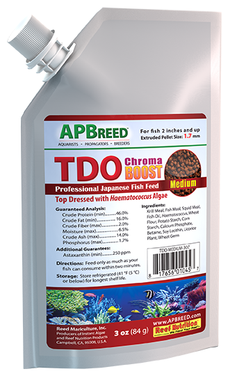 TDO Chroma Boost, Medium Pellet 3oz