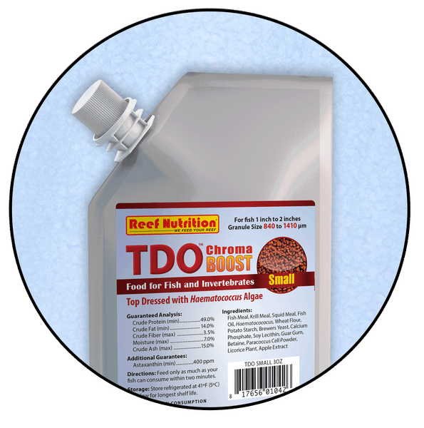 TDO Chroma Boost, Small Pellet 3oz