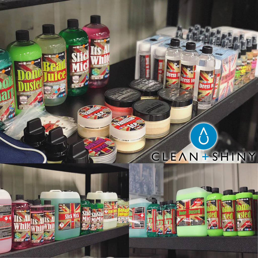 Bouncer's joins Clean + Shiny's product range!