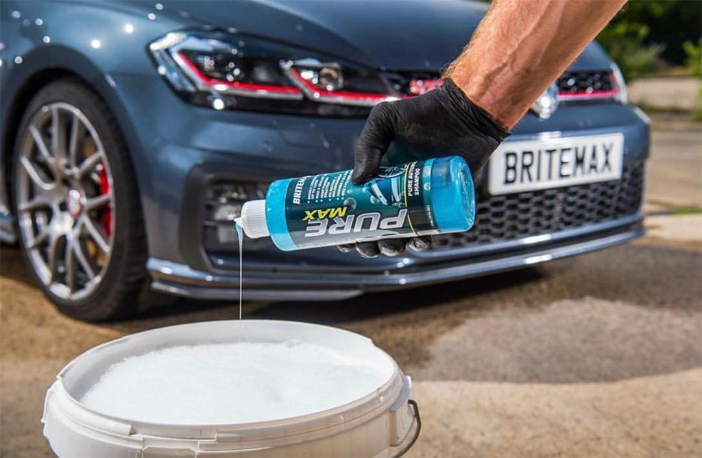 Maintain Coating Hydrophobic Effects With Britemax Pure Max
