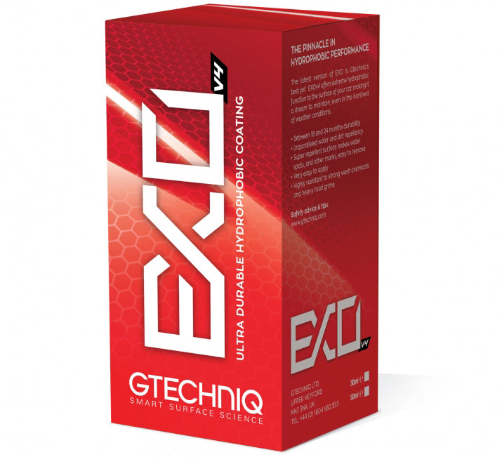 Make Your Car Easier To Maintain With Gtechniq EXO v4
