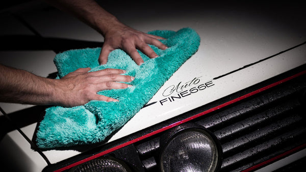 Auto Finesse Aqua Deluxe Drying Towel | Clean and Shiny
