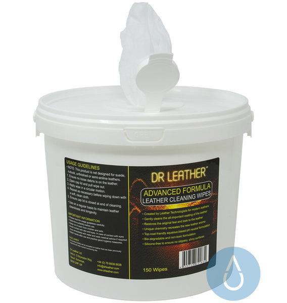 Dr Leather Wipes (150 Pack)
