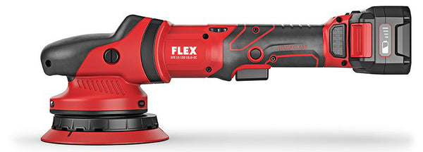 Flex XFE 15 150 18.0-EC/5.0 Cordless Random Orbital Polisher Kit