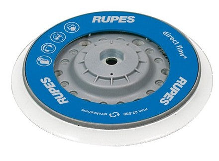 "Rupes 6"" Velcro Backing Plate - Fits LHR21ES and LHR15ES"
