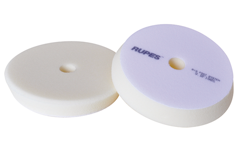 Rupes 150mm White Ultra Fine Foam Pad Soft Polishing Pad