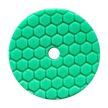 "Chemical Guys 5.5"" Hex-Logic Quantum Heavy Polishing Pad, Green"