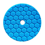 "Chemical Guys 5.5"" Hex-Logic Quantum Soft Polishing Pad, Blue"
