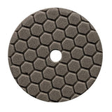 "Chemical Guys 5.5"" Hex-Logic Quantum Finishing Pad, Black"