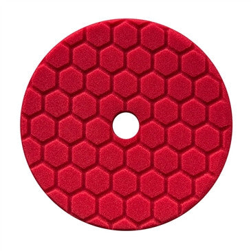 "Chemical Guys 5.5"" Hex-Logic Quantum Fine Finishing Pad, Red"