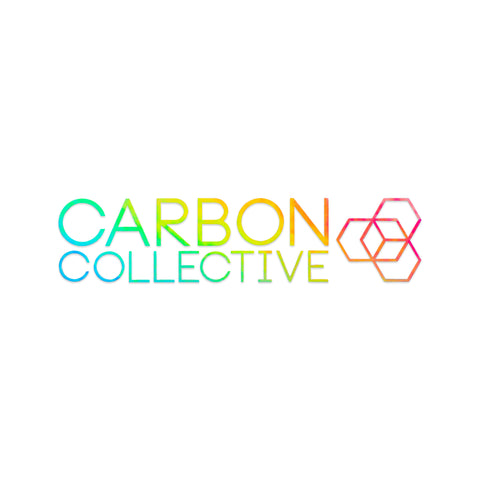 Carbon Collective 85mm Cut Vinyl Oilslick Sticker
