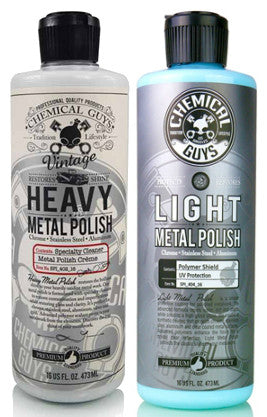 Chemical Guys Metal Polish Kit 473ml