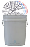 Clean and Shiny US 5 Gallon Bucket and Grit Guard Kit (Various Colours)