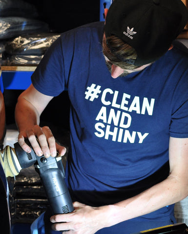 Clean and Shiny Hashtag T Shirt (Various Sizes)