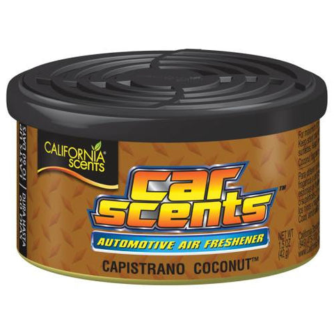 California Scents Capistrano Coconut Automotive Car Scent