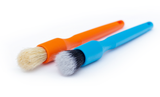 Detail Factory Mini Ultra-Soft & Boar Hair Set - Blue/Orange