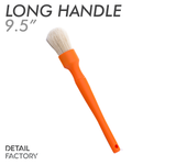 Detail Factory Orange Boar Hair Detailing Brush - Large