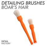 Detail Factory Orange Boar Hair Detailing Brush Set