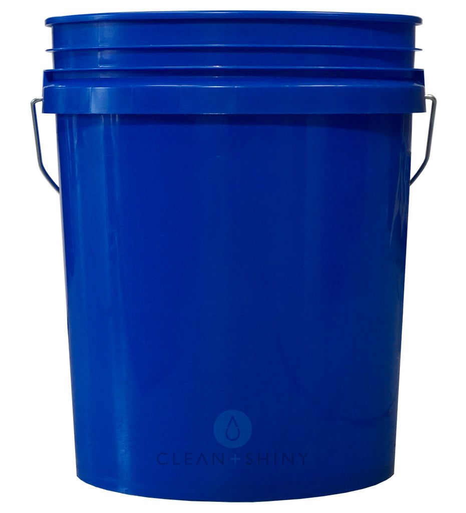 Clean And Shiny 5 Us Gallon Bucket Various Colours