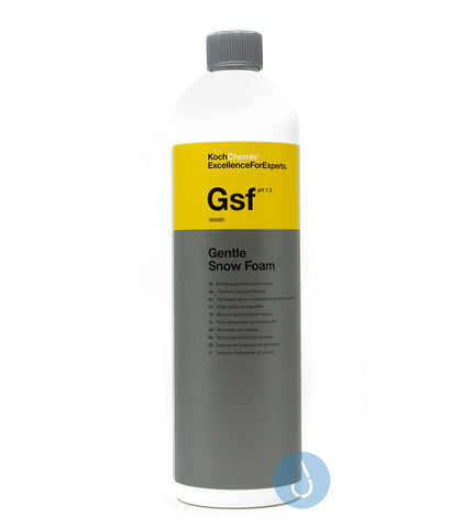 koch chemie gsf gentle snow foam 1 litre online in store cleanandshiny. Black Bedroom Furniture Sets. Home Design Ideas