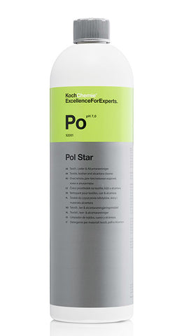 Koch Chemie Pol Star Textile, Leather & Alcantara Cleaner 1 Litre