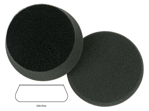 "Lake Country Force Pad 3.5"" Black - Finishing"