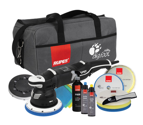 Rupes BIGFOOT LK 900E Mille Machine Polisher Deluxe (DLX) Kit