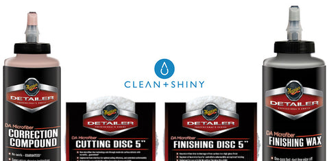 "Meguiars DA Microfiber 5"" Cutting and Finishing Kit"
